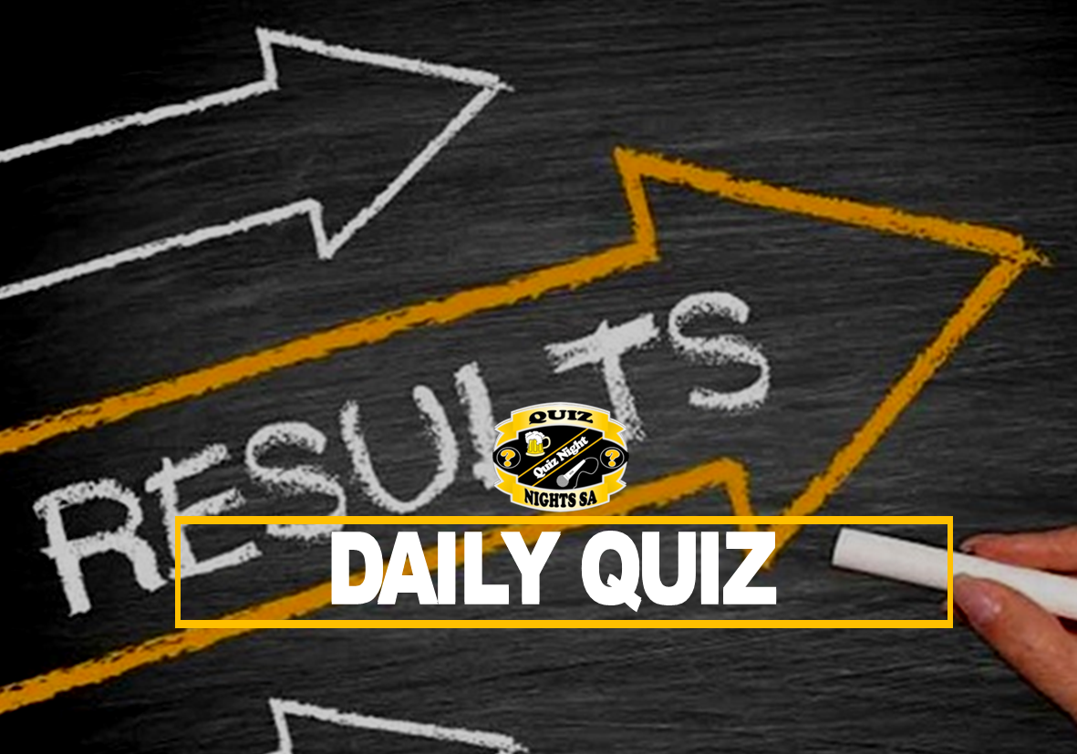 Daily Quiz results 1 Feb