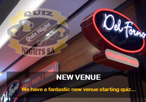 New Quiz Venue - Del Forno Bryanston