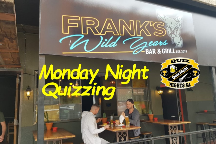 Monday Night quizzing in Norwood!