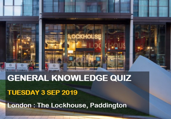 General Knowledge Quiz in Paddington