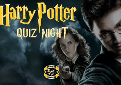 Harry Potter Quiz in Brighton is Fully Booked