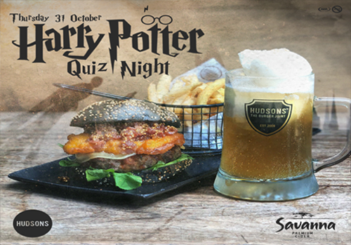 Hudsons Harry Potter Quiz Night