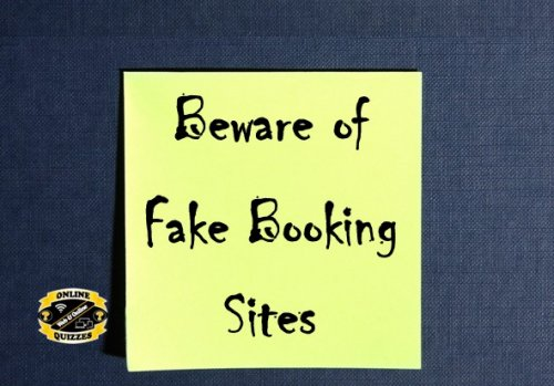 Beware of Fake Quiz sites