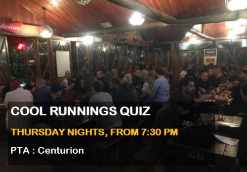 Cool Runnings Quiz Night