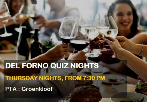 Quiz Nights at Del Forno