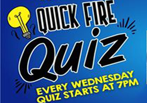 Quiz Fire Quiz at Rusty Hook