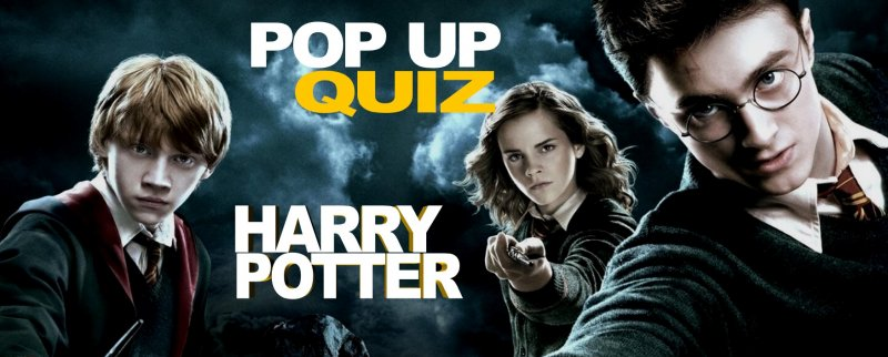 Pop Up Quiz - Harry Potter (free to play)