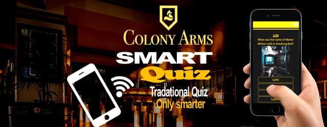 Colony Arms (Craighall) - Smart Quiz