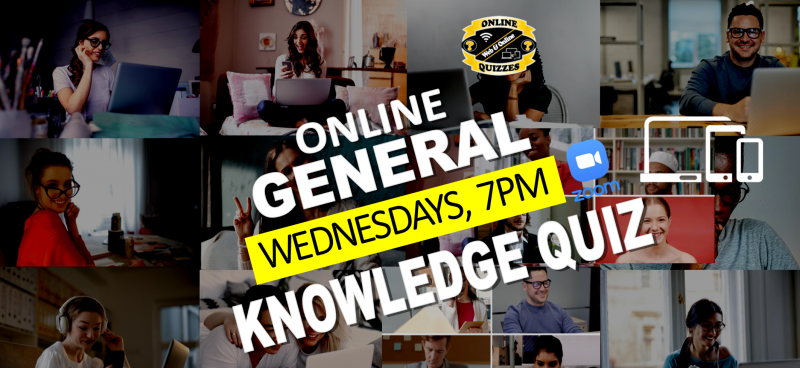 Online General Knowledge Quiz. Free to play!