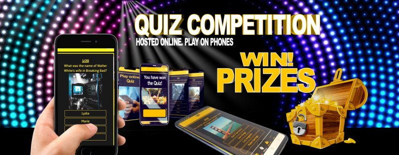 Quiz Competition - R500 in prizes to be won