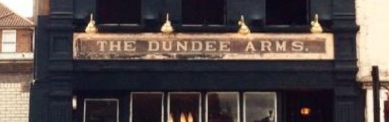 The Dundee Arms, Bethnal Green E2 9LH